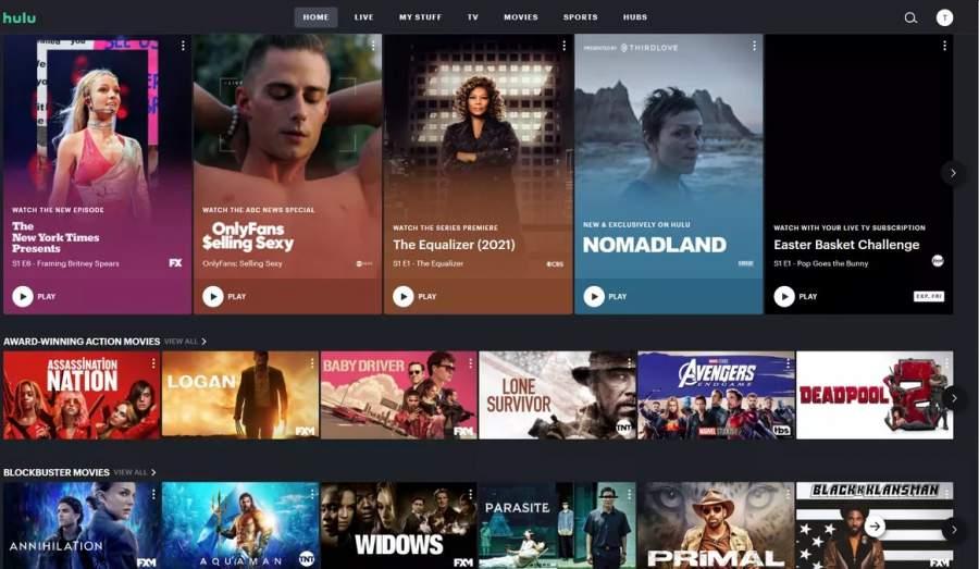Hulu+Live TV