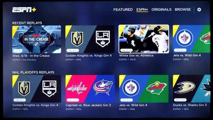 ESPN plus Watch MLB Games Online