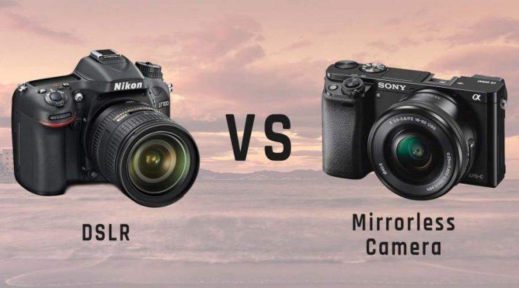 DSLR vs Mirrorless Cameras