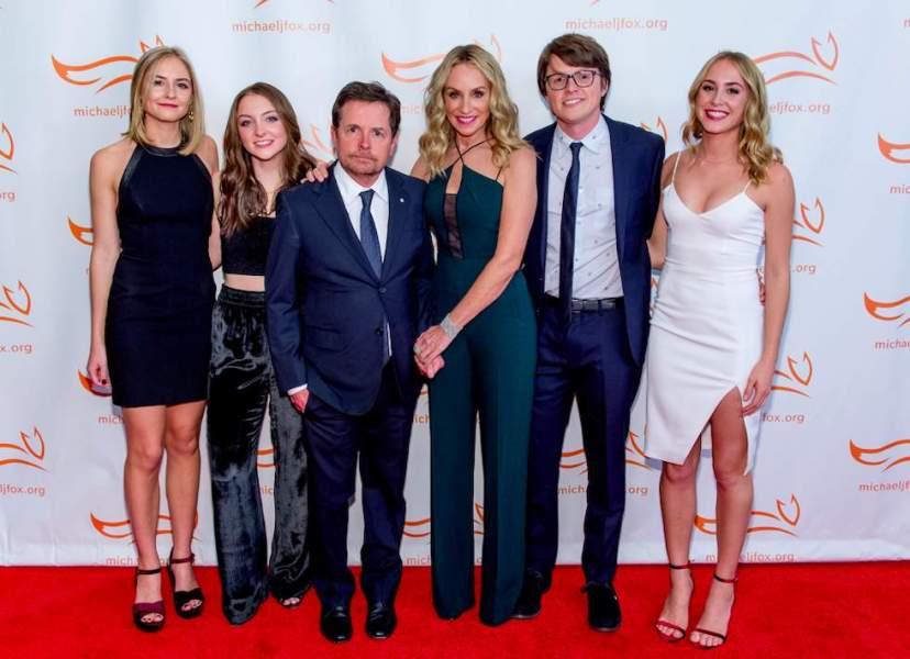 Michael J. Fox wife and kids