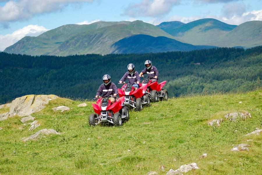 Quad Biking in Scotland