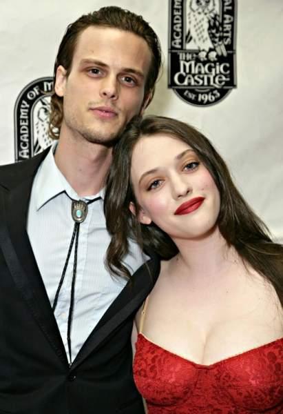 Kat Dennings and Matthew Gray Gubler