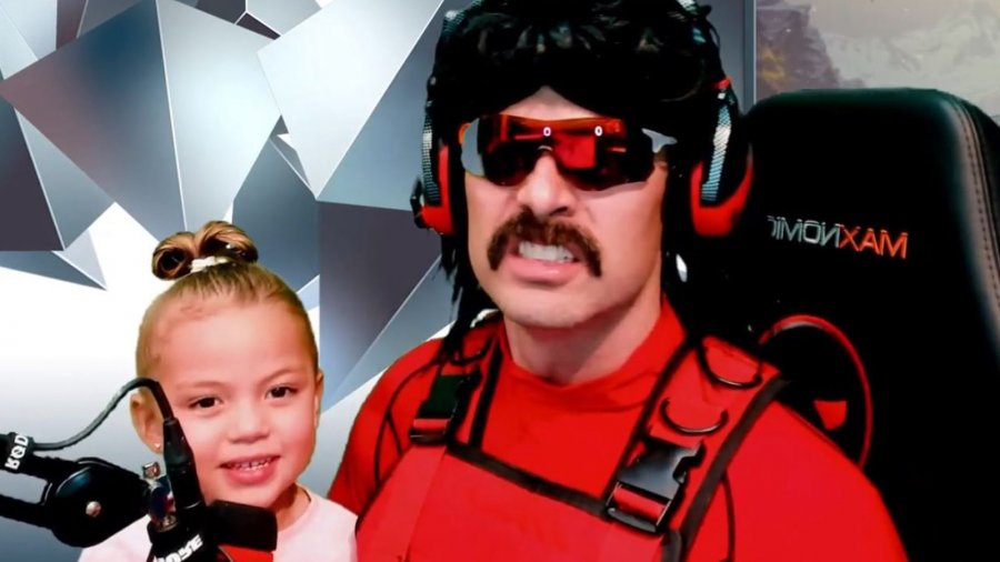 Dr Disrespect and Daughter