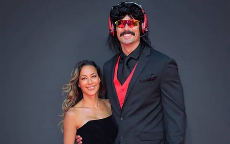 Dr. DisRespect with his wife