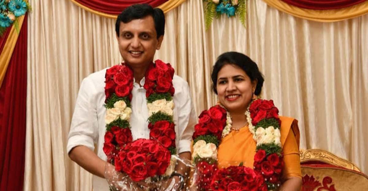 Veena Vijayam and Muhammed Riyas Wedding