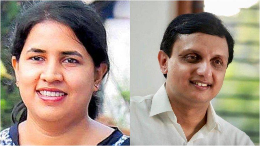 Muhammad Riyas and Veena Vijayan