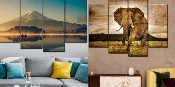 Beautiful Nature Inspired Wall Art Ideas