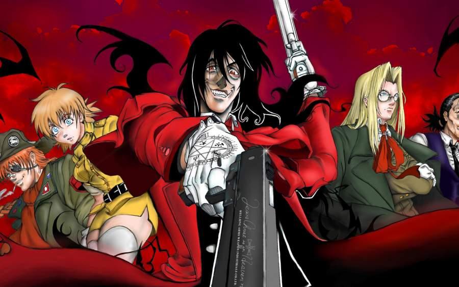 Hellsing Ultimate Dark Anime