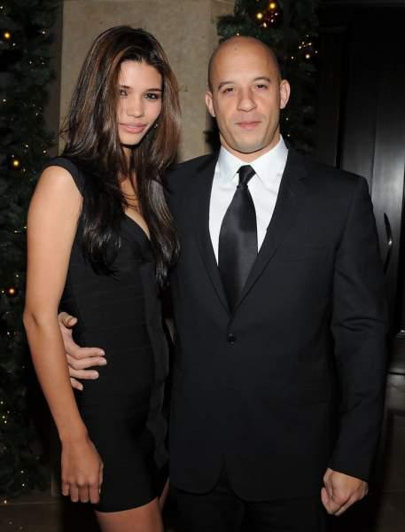 Paloma Jiménez and Vin Diesel
