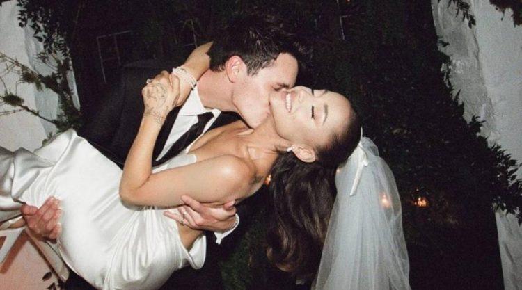 Ariana Grande PETA's Wedding Gift