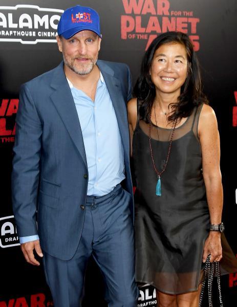 Woody Harrelson's Wife Laura Louie