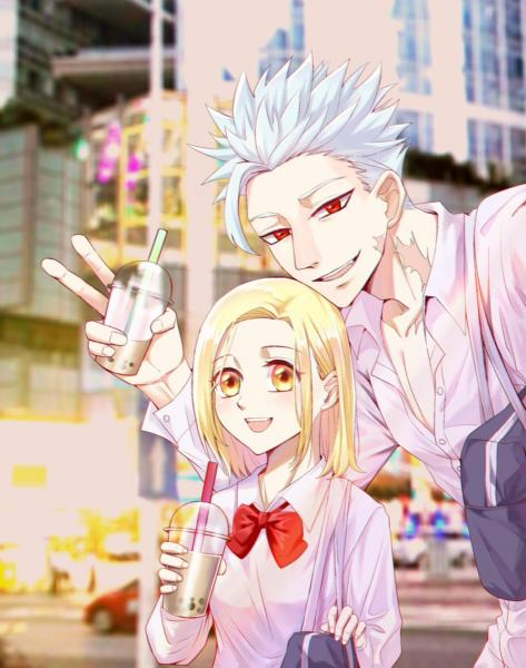Ban x Elaine (Best Anime Couples)