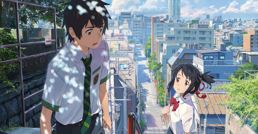 Mitsuha Miyamizu x Taki Tachibana (Best Anime Couples)