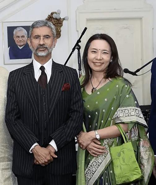 Subrahmanyam Jaishankar and Kyoko Jaishankar