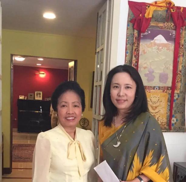 Kyoko Jaishankar with Malayvieng Sakonhninhom