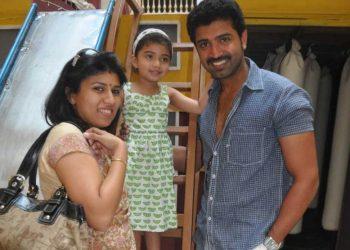 Arun Vijay Family
