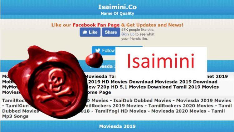 Isaimini Site Leaks Tamil Movies