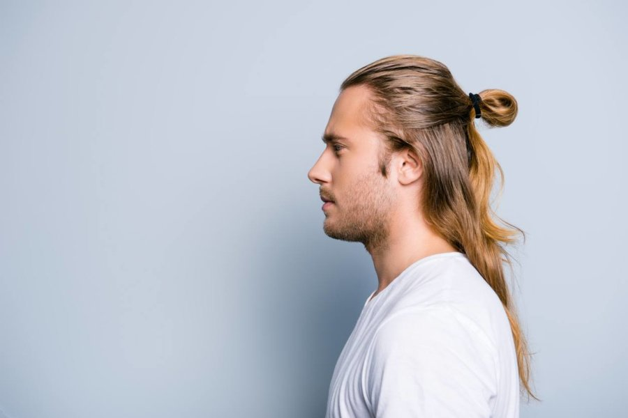 Ponytail Hairstyle men