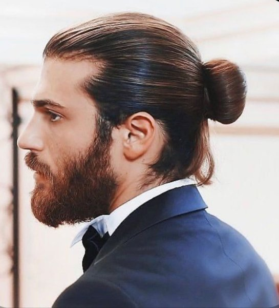 Man Bun Hairstyle men