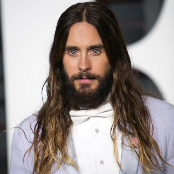 Part The Long Hairstyle men