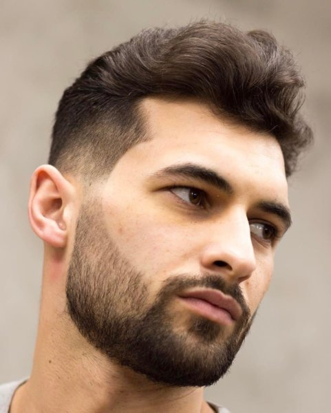 Mid-Length Masterpiece Hairstyle men