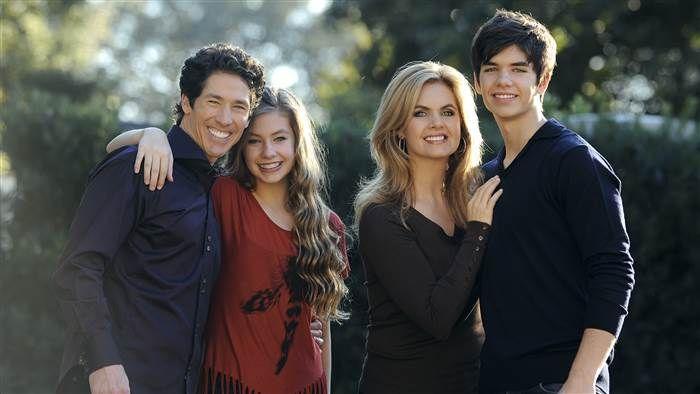 Joel Osteen His Wife and Children
