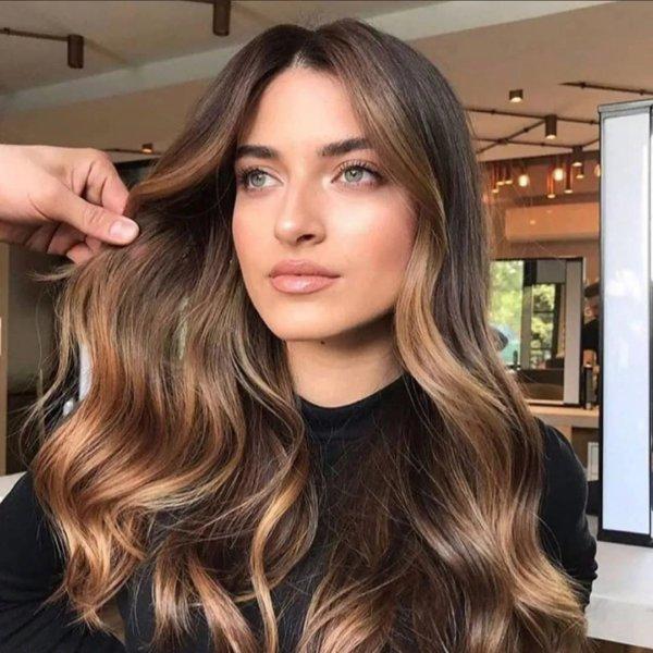 Light Brown Hair Bronzed Brown