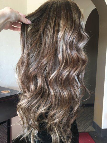 Mushroom Brown Light Brown Hair