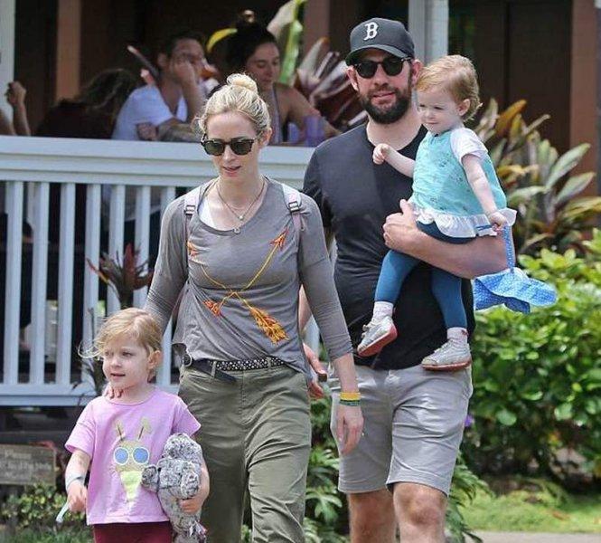 Emily Blunt and John Krasinski Children