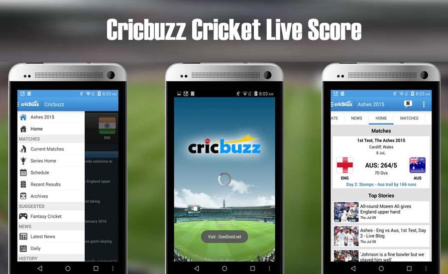 CricBuzz Cricket Live Score