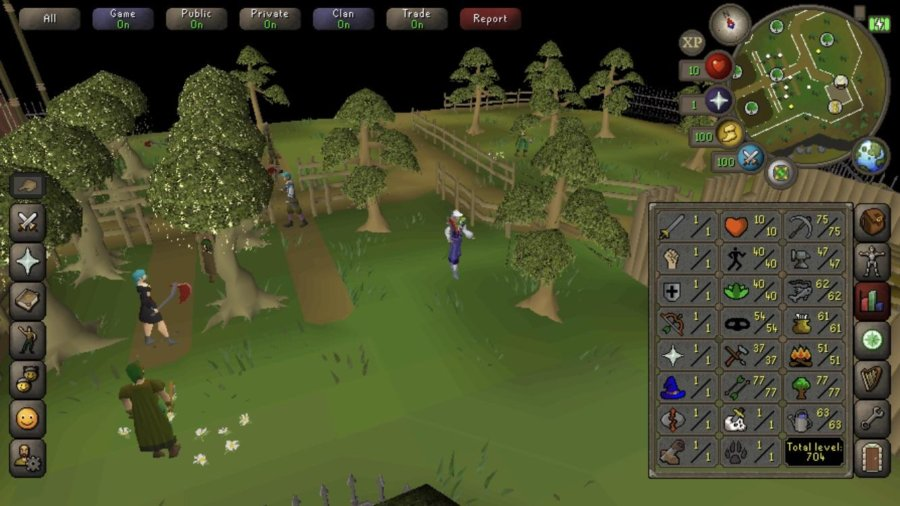 Old School Runescape Game feature