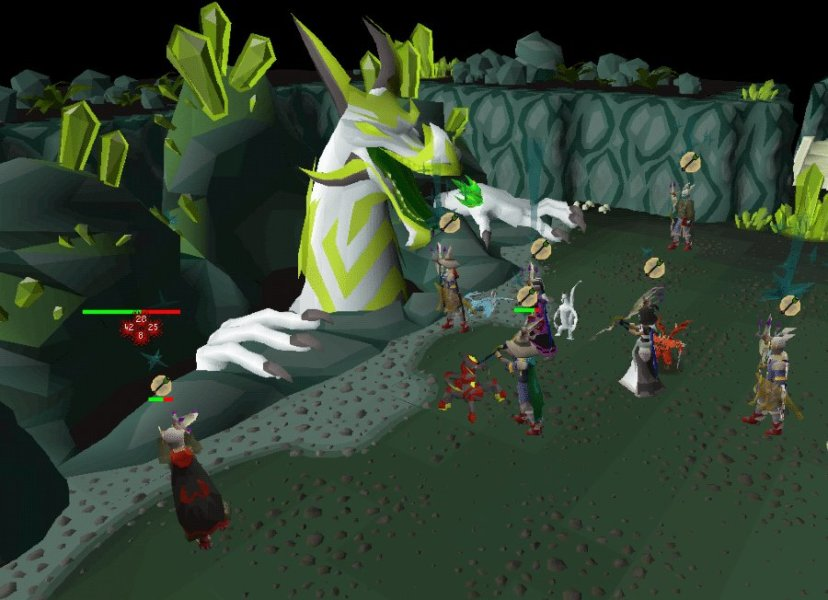 Enthusiasm of Old School Runescape Game