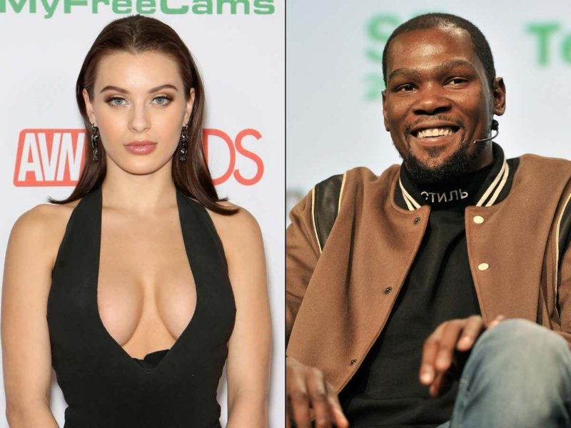 Kevin Durant date with Lana Rhoades