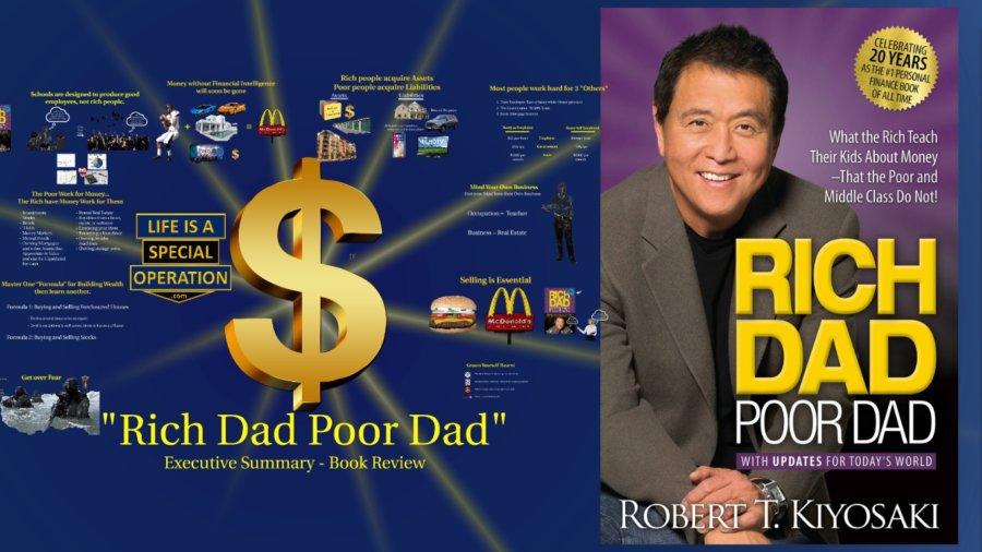 Rich Dad Poor Dad Book Summary