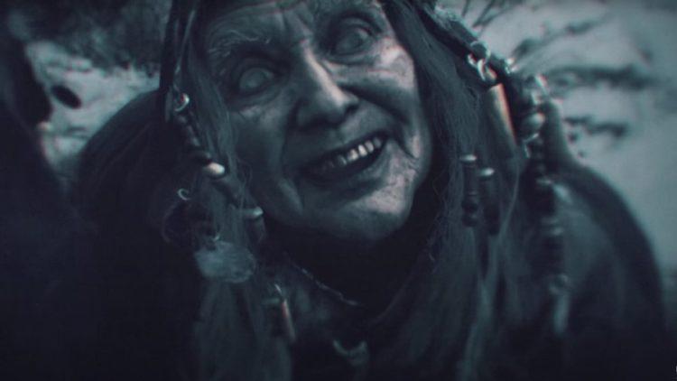 old granny in Resident evil village