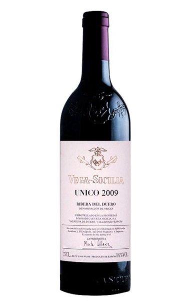 Best Spanish Red: Vega Sicilia Unico 2009