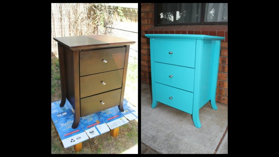 Restore the colour of old furniture