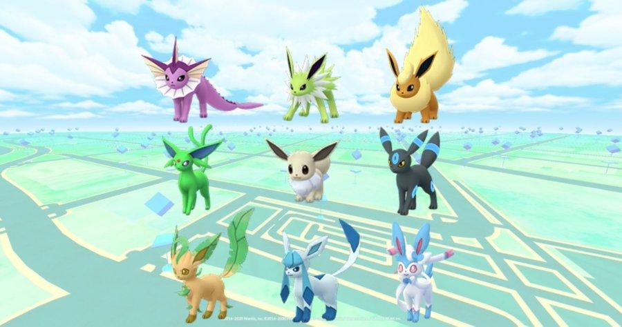 Acquire Vaporeon, Jolteon, and Flareon in Pokemon Go evolutions