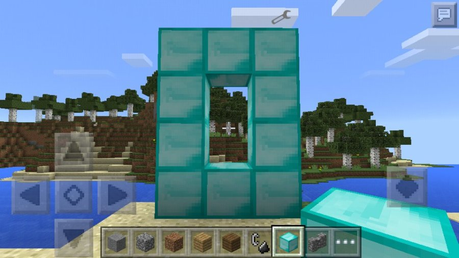 How to Build Nether portals without diamonds