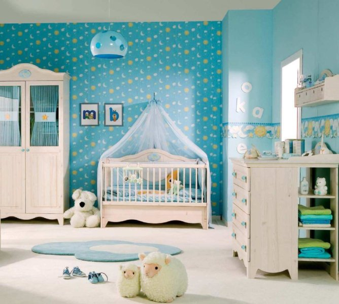 baby boy room Themes and Colors