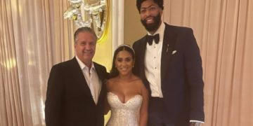 Anthony Davis married with Marlen P