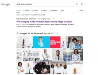 White American Doctor
