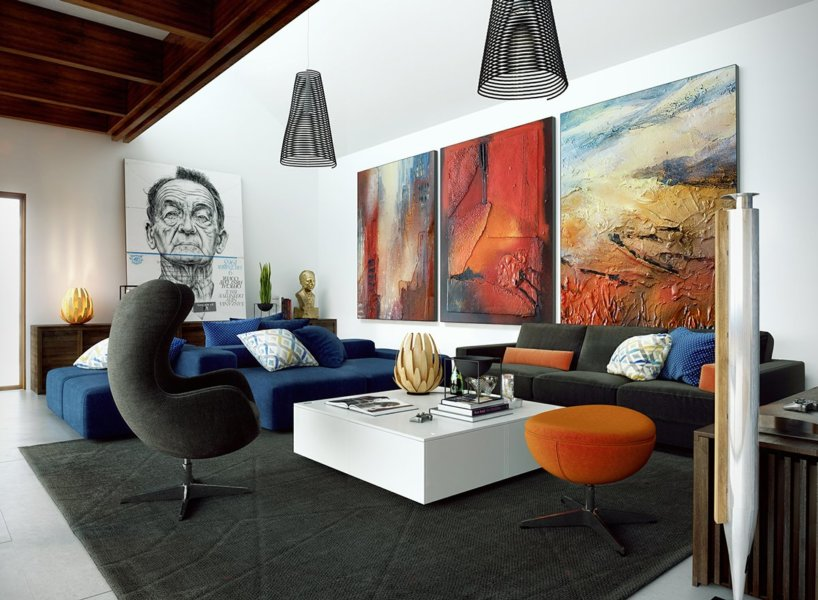 Add Wall Art and Paintings