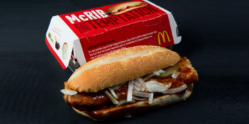 McDonald's McRib is back