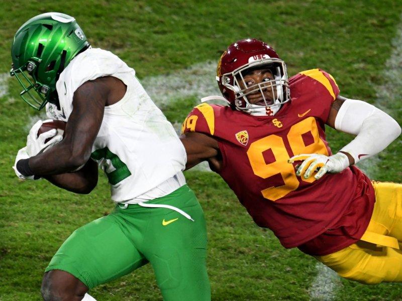 New York Jets: Drake Jackson, DE, USC
