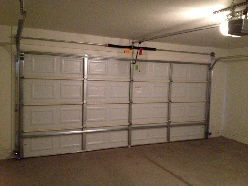 Steps to repair the garage door springs