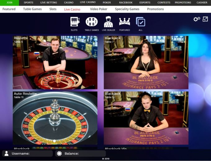 Live dealers and cloud gaming