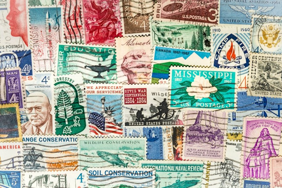 Get stamps from eBay