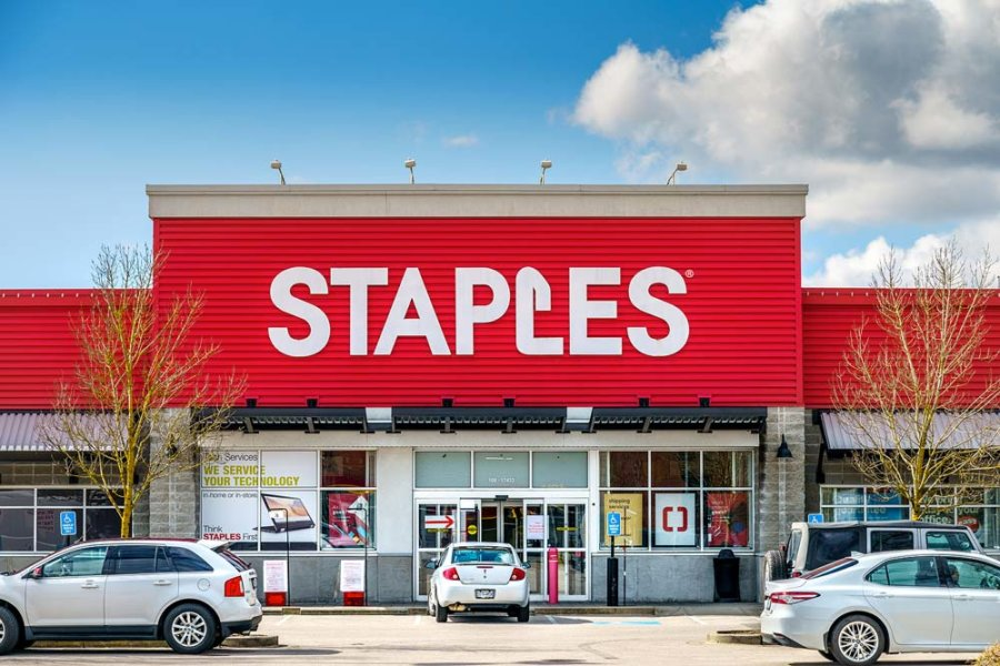 Staples Sell Stamp